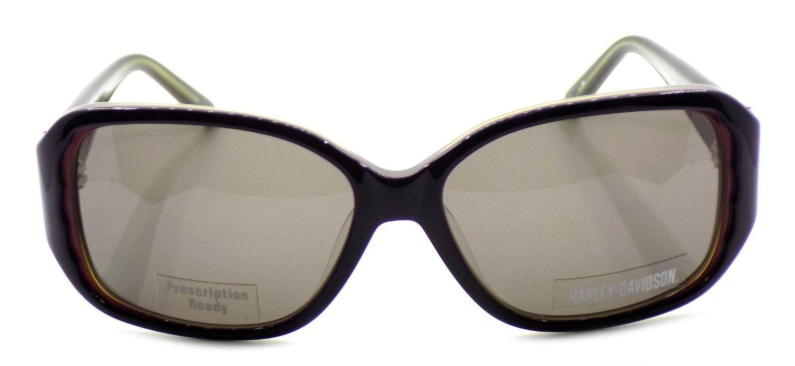 Harley Davidson HDX846 PUR-3 Women's Sunglasses Purple 56-15-130 Gray + CASE