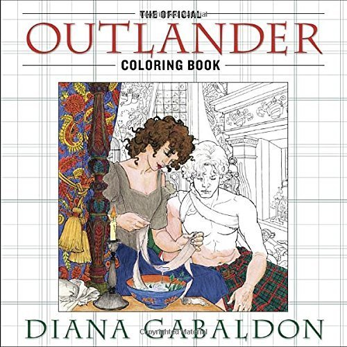 Primary image for The Official Outlander Coloring Book: An Adult Coloring Book by Diana Gabaldon
