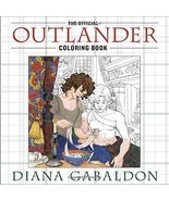 The Official Outlander Coloring Book: An Adult Coloring Book by Diana Ga... - $18.51
