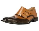 Liberty Men's Triple Monk Strap Wing Tip Shoes - $71.52 CAD