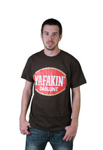 Milkcrate Athletics Mens Chocolate Brown Blunt Weed Marijuana T-Shirt NWT image 1