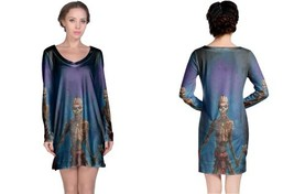 eddie poster Long Sleeve Night Dress - $23.99+