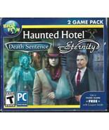 Big Fish Haunted Hotel PC Game- Death Sentence & Eternity - $16.00