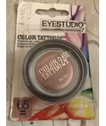 Gemey Maybelline Eyestudio Color Tattoo 24-Hour Eye Shadow 65 Pink Gold  - $14.95