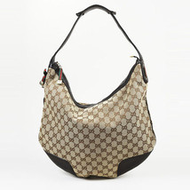 "284f902e7485 Gucci Original GG Canvas & Leather ""Princy"" Hobo Bag ..."