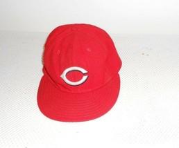 Cincinnati Reds New Era 59Fifty Red Thowback Era Hat Cap 7 1/4 - $13.95