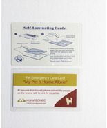 Pet Emergency Cards with Laminating Pouches - Dog (Pack of 2) - $0.00