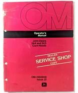 VTG John Deere 244 343 Corn Heads Equipment Operators Manual Dealer Copy... - $17.90