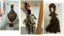 Choice 1930's Vintage 1930-40s Souvenir Dolls in Traditional costume out... - $14.99+