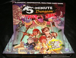 5 Minute Dungeon Spin Masters Game- Complete - $26.00