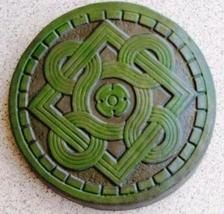 "1 DIY 14""x2"" ROUND CELTIC STEPPING STONE MOLD MAKE CRAFTS AT HOME FOR $1.00 EACH image 5"