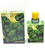 Marvel Heroes Hulk Eau De Toilette Spray for Men 3.4 oz New in Sealed box - $26.09