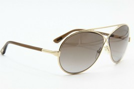 New Tom Ford Tf 154 28F Gold Gradient Authentic Sunglasses TF154 64-11 - $220.66