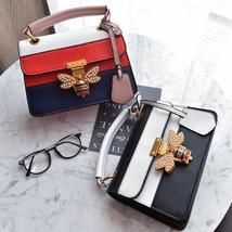 2018 Luxury Crossbody bag Women Colorful splicing Little Bee Bags Design... - $46.99