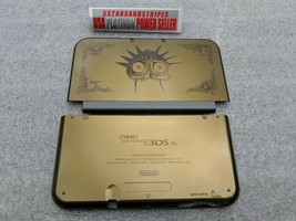 NEW 3DS XL GOLD ZELDA  Majoras Mask Top & Battery Cover Housing Shell 2 ... - $32.62