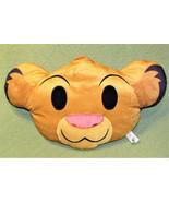 "17"" DISNEY EMOJI LION KING PILLOW PLUSH STUFFED ANIMAL SIMBA JUST PLAY C... - $11.75"