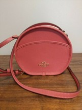 Coach Crossbody Small Leather Canteen Handbag F75516 Rose Petal (Pink) jm - $98.01