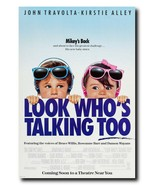 "Look Who's Talking Too Movie Poster 24x36"" - Frame Ready - USA Shipped - $17.09"
