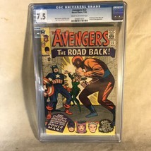 Avengers #22 1965 Marvel Comics CGC Graded 7.5 - £73.97 GBP