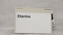 2020 Hyundai Elantra Owners Manual 100462 - $40.18