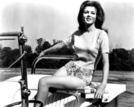 Pamela Tiffin sexy 1960's pin up in open top car 16x20 Canvas Giclee - $69.99