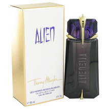 Alien Perfume by Thierry Mugler 3 oz Eau De Parfum Refillable Spray Nigh... - $84.25