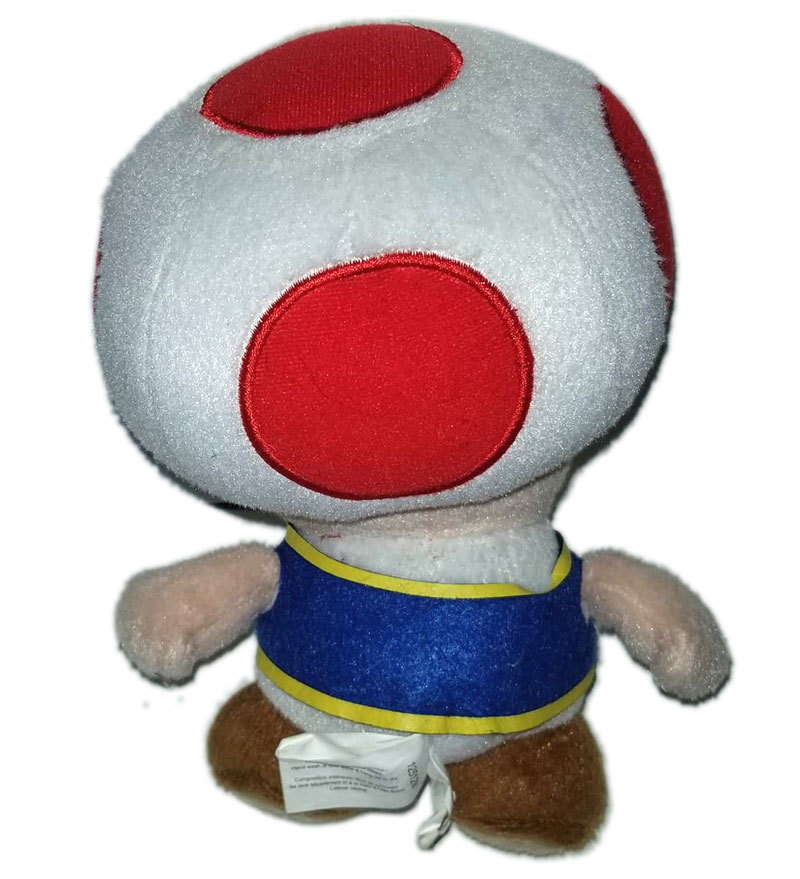 "Super Mario Bros. ""Toad"" Official 2012 Plush"