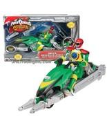 """NEW Bandai Power Rangers Operation Overdrive 8.5"""" Vehicle GREEN HOVERTEK... - $49.99"""