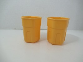 Little Tikes play kitchen yellow 2 cups replacement set - $6.92