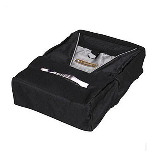 Simple Design Car Seat Back Organizer Suspension Type Oxford Storage Bag,BLACK