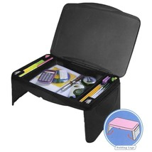 Laptop Desk Folding Breakfast Table Serving Tray Extra Storage Space Div... - $540,48 MXN