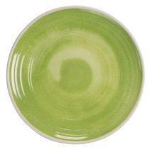 Green Raku Glazed Collection 12 Piece Melamine Dinnerware Set by TarHong - $104.89