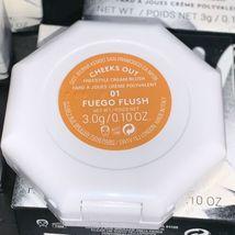 NEW IN BOX Fenty Beauty Cheeks Out Cream Blush In FUEGO FLUSH Soft Mandarin image 5