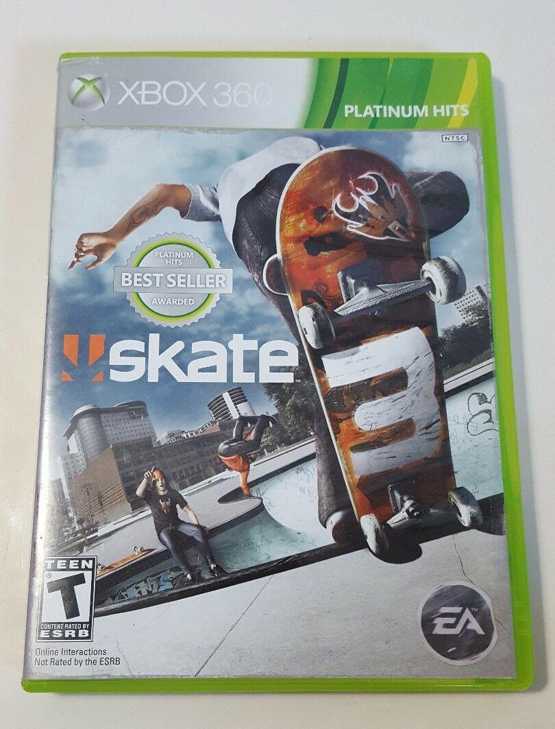 Skate 3 - Xbox 360 GH Video Game CIB Complete
