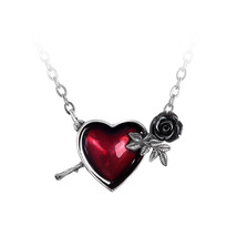 Wounded By Love Necklace by Alchemy Gothic - $28.95