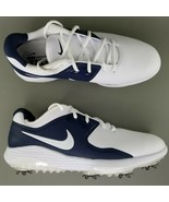 Nike Vapor Pro Soft Spike Golf Shoes Size 9 Mens Cleats Blue White - $102.84