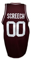 Screech Bayside Saved By The Bell Basketball Jersey New Sewn Maroon Any Size image 2