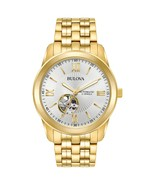 Bulova Men's Gold-Tone Stainless Steel Automatic Watch - $272.00
