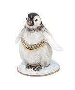 Bejeweled Baby Penguin Trinket Box - $62.99