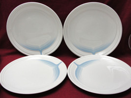 Set Of Four (4) Johnson Brothers - Blue Ice Pattern - Dinner Plates - $28.95