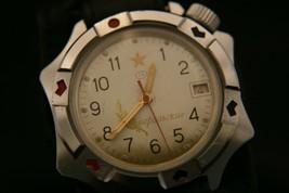 Rare vintage USSR Vostok 2414 Generalskie 17 jewel Soviet military wristwatch - $108.90