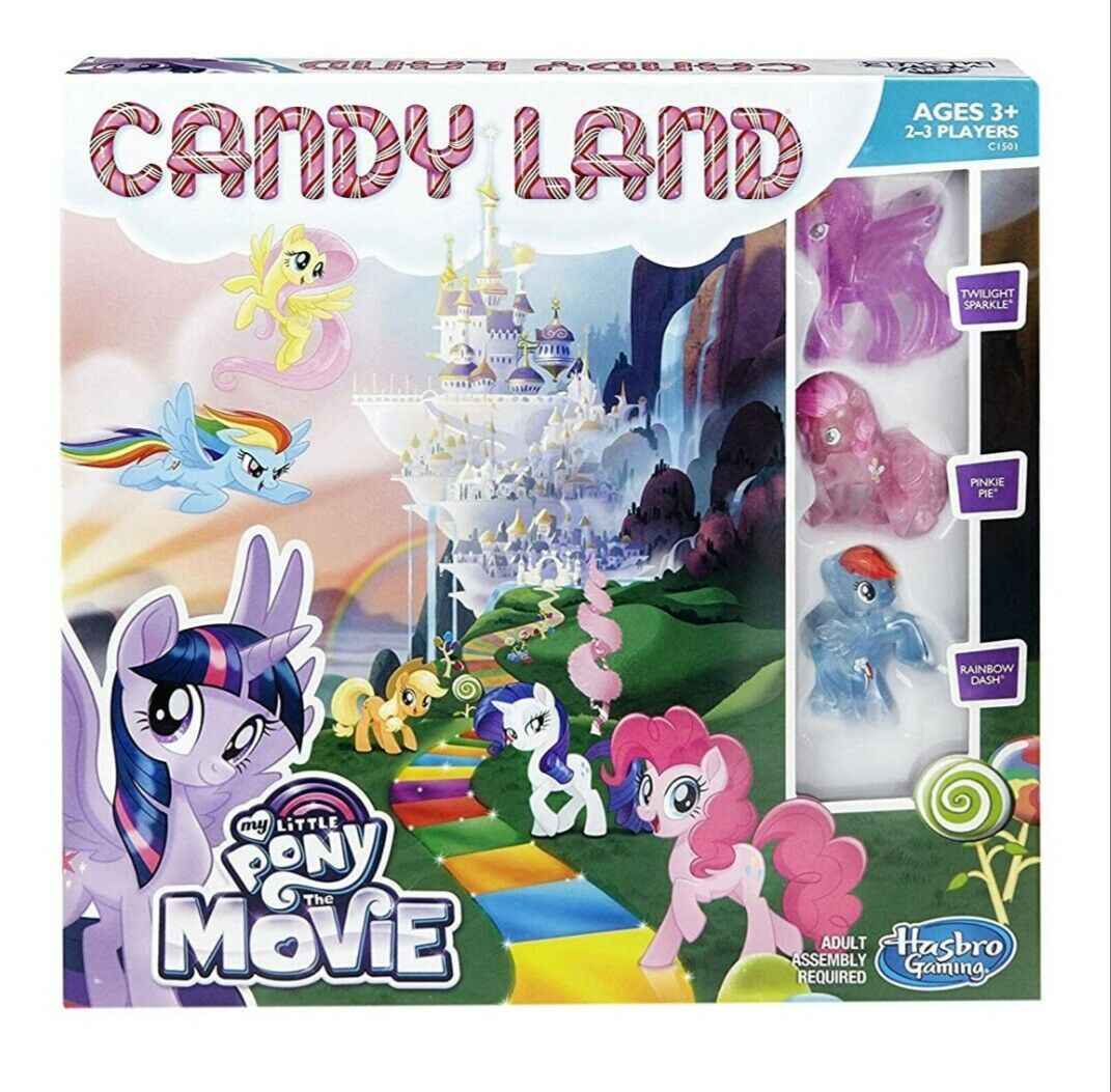 Primary image for NEW SEALED 2016 Hasbro My Little Pony the Movie Candy Land Board Game
