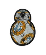 """BB-8 IRON ON PATCH 3.25"""" Embroidered Applique Star Wars Force Awakens BB... - $5.99"""