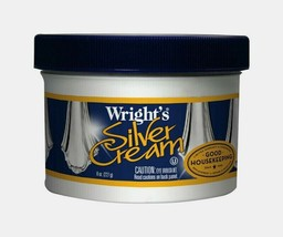 Wright's SILVER CREAM 8 oz Polish Jewelry Remove Scratches CD DVD Gentle... - $11.99