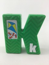 Tyco Sesame Street Textured Alphabet Replacement Letter K Vintage 1994 - $8.86