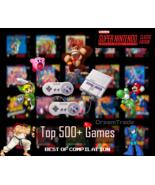 Super Nintendo Classic Edition Console SNES Mini Entertainment System 500+ Games - $209.00