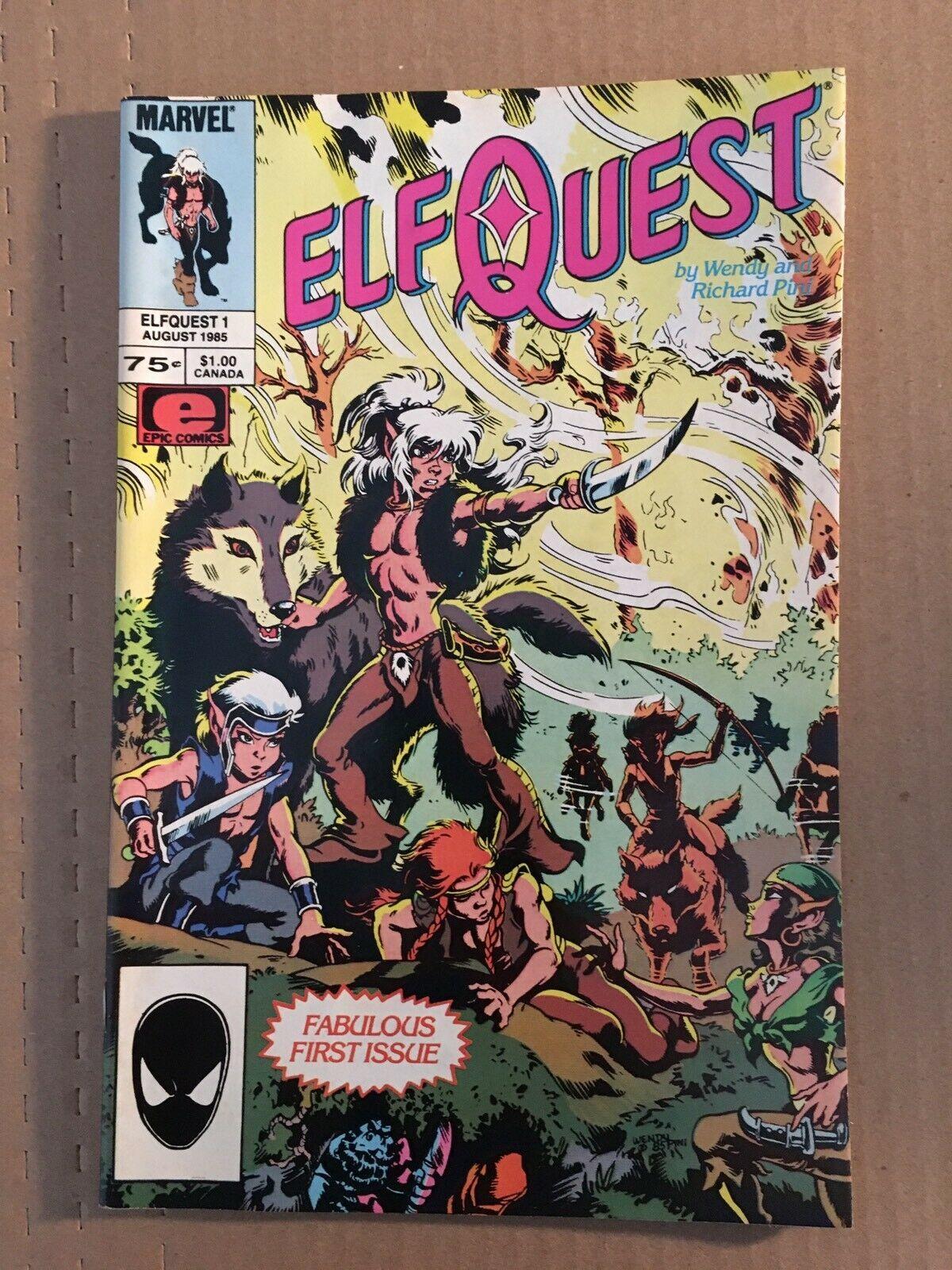 Elfquest #1 Marvel Comic Book 1985 VF+ Condition