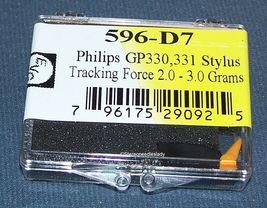 PHONOGRAPH TURNTABLE NEEDLE for Philips GP330 GP350 GP331 EV 596-D7 image 3