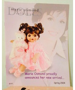 MARIE OSMOND Doll Collection Catalog Spring 2004—More Marie Catalogs Ava... - $9.90
