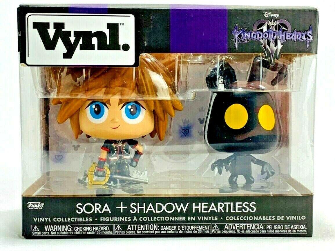 Funko Vynl Disney Kingdom Hearts III Sora & Heartless Vinyl Figures - $18.80